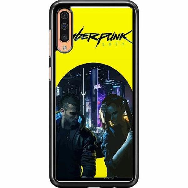 Samsung Galaxy A50 Hard Case (Svart) Cyberpunk 2077