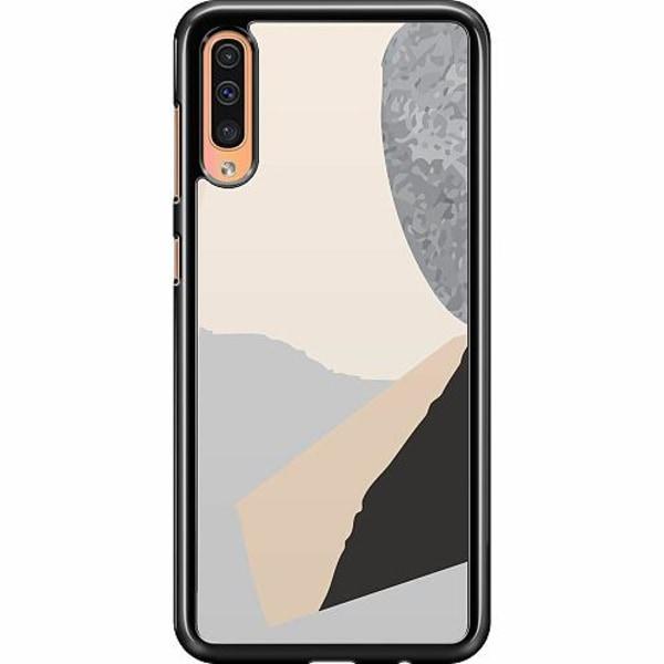 Samsung Galaxy A50 Hard Case (Svart) Hawaii Retro