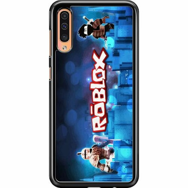 Samsung Galaxy A50 Hard Case (Svart) Roblox