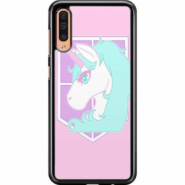 Samsung Galaxy A50 Hard Case (Svart) UNICORN