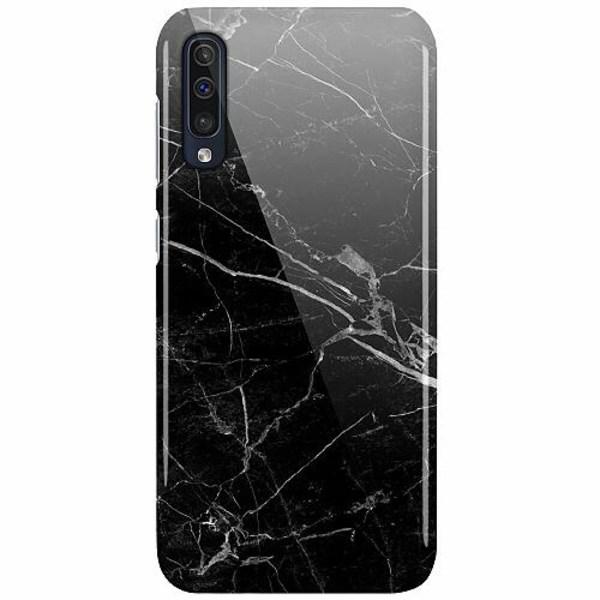 Samsung Galaxy A50 LUX Mobilskal (Glansig) black marble