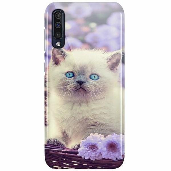 Samsung Galaxy A50 LUX Mobilskal (Glansig) Cute Kitten