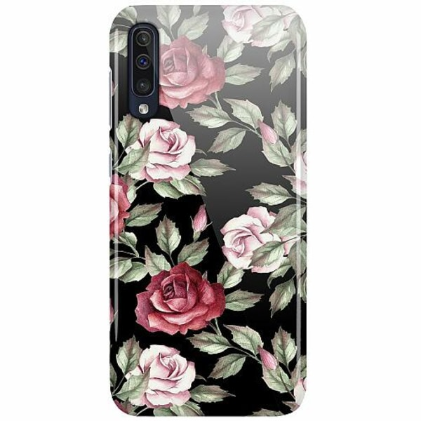 Samsung Galaxy A50 LUX Mobilskal (Glansig) Floral Dream