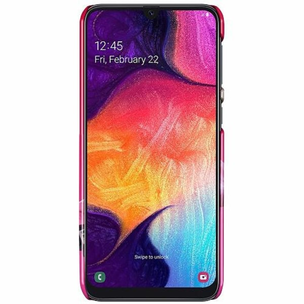 Samsung Galaxy A50 LUX Mobilskal (Glansig) Fortnite Pink Bear
