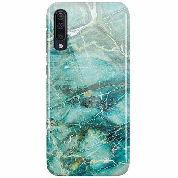 Samsung Galaxy A50 LUX Mobilskal (Glansig) Light Emerald