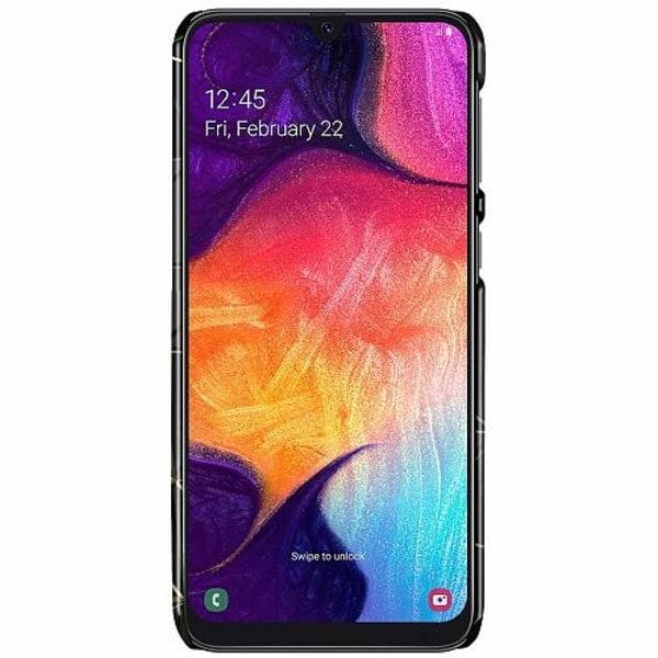 Samsung Galaxy A50 LUX Mobilskal (Glansig) Midnight