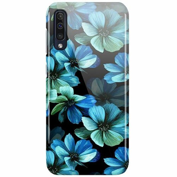 Samsung Galaxy A50 LUX Mobilskal (Glansig) Midnight Garden