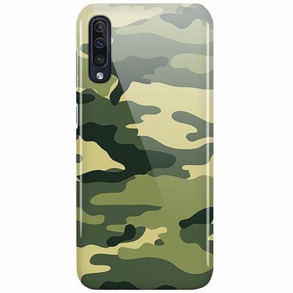 Samsung Galaxy A50 LUX Mobilskal (Glansig) Military