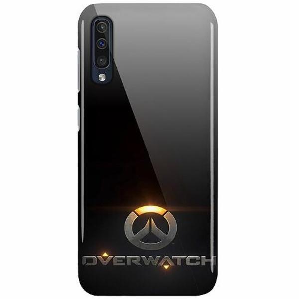 Samsung Galaxy A50 LUX Mobilskal (Glansig) Overwatch Logo