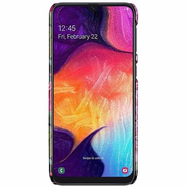Samsung Galaxy A50 LUX Mobilskal (Glansig) Purple Florals