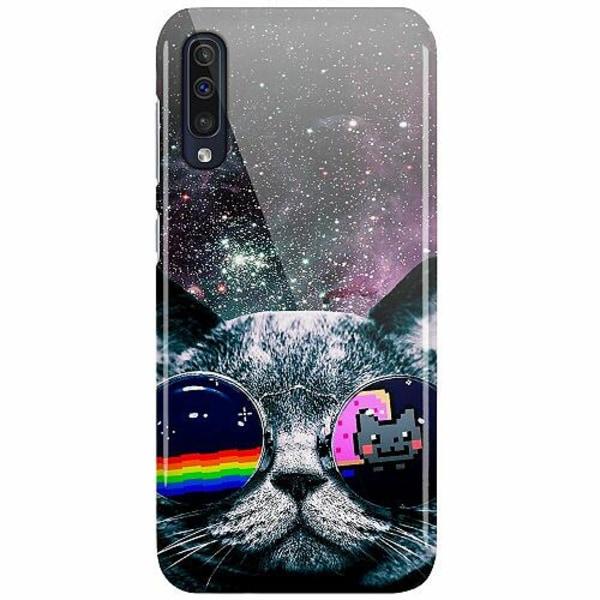 Samsung Galaxy A50 LUX Mobilskal (Glansig) Space Cat