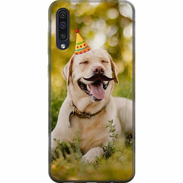 Samsung Galaxy A50 TPU Mobilskal Party Labrador Retriever