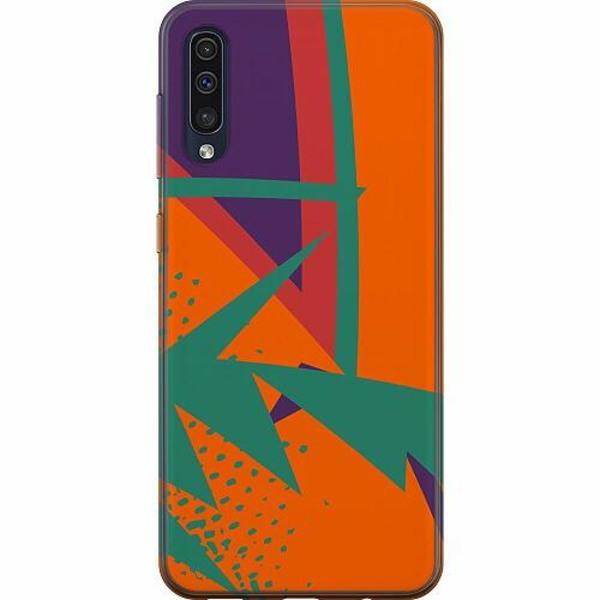 Samsung Galaxy A50 TPU Mobilskal Retro x200
