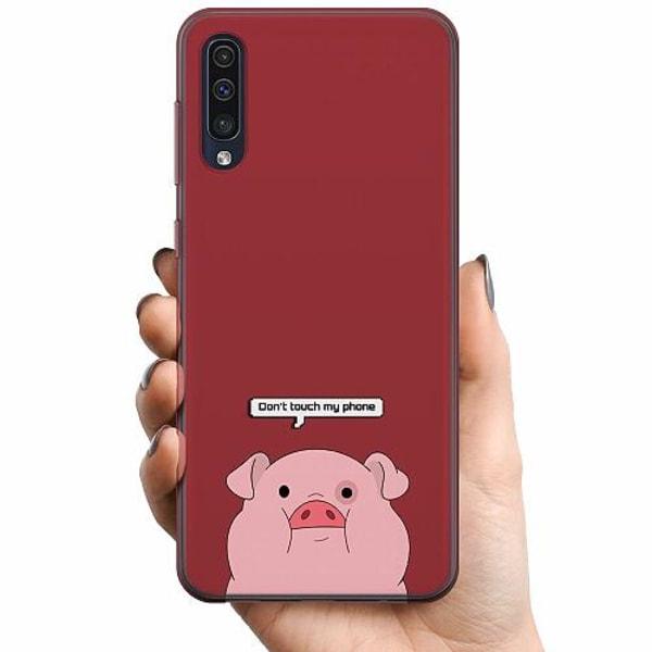 Samsung Galaxy A50 TPU Mobilskal Touch My Phone