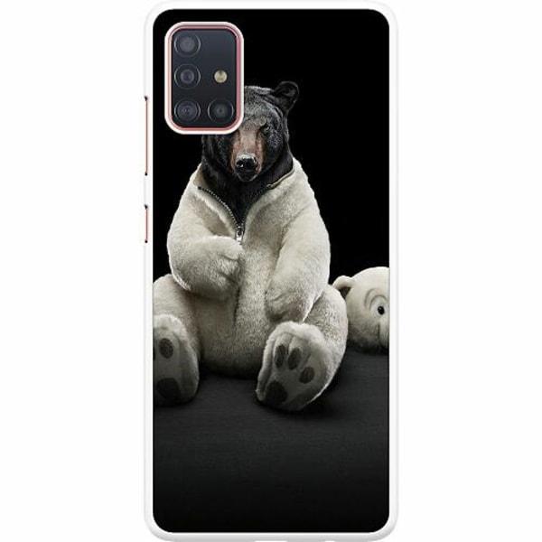 Samsung Galaxy A51 Hard Case (Vit) WTF