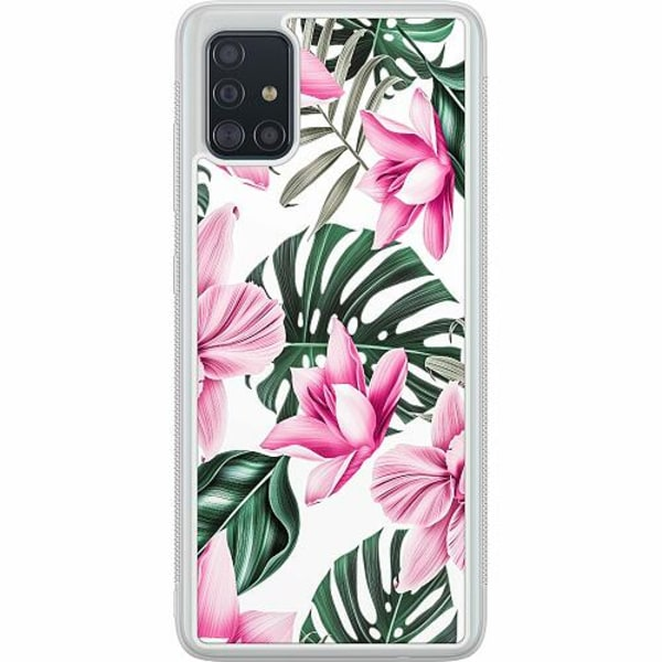 Samsung Galaxy A51 Soft Case (Frostad) Blommor