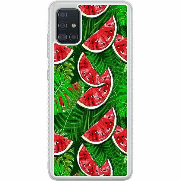 Samsung Galaxy A51 Soft Case (Frostad) Bushy Melons