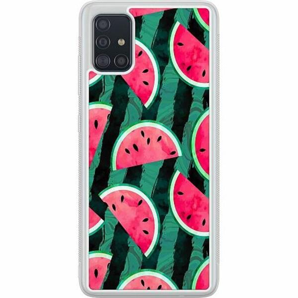 Samsung Galaxy A51 Soft Case (Frostad) Crazy for Watermelon