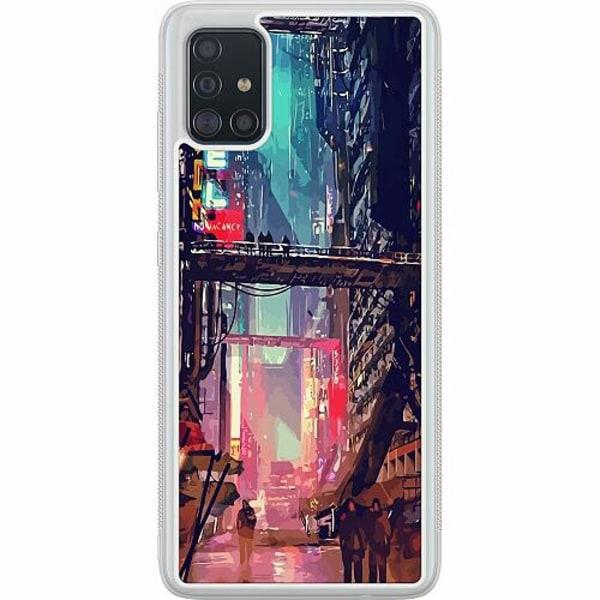 Samsung Galaxy A51 Soft Case (Frostad) Cyberpunk 2077