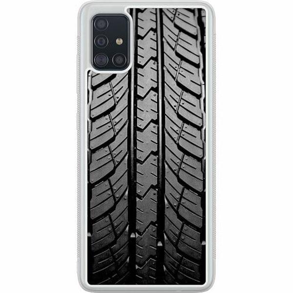 Samsung Galaxy A51 Soft Case (Frostad) Däckmönster