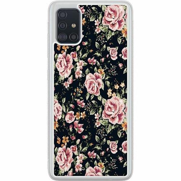 Samsung Galaxy A51 Soft Case (Frostad) Flowers
