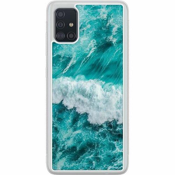 Samsung Galaxy A51 Soft Case (Frostad) Ocean