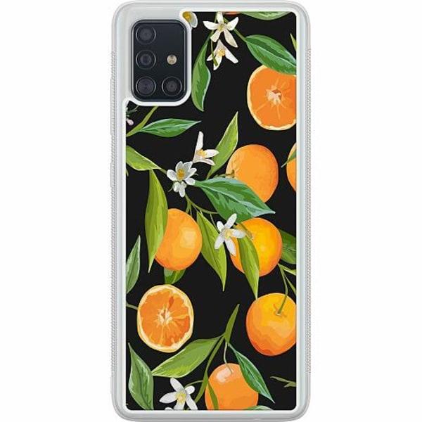 Samsung Galaxy A51 Soft Case (Frostad) Orange Juice