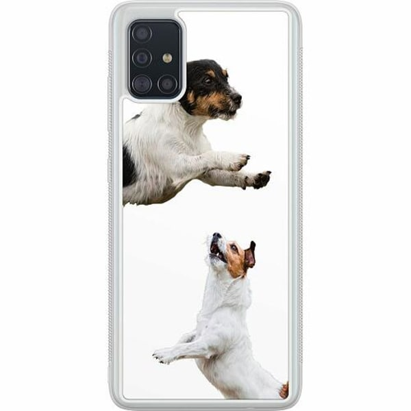 Samsung Galaxy A51 Soft Case (Frostad) Two Jacks on a Russell