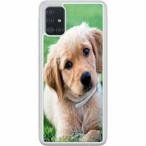 Samsung Galaxy A51 Soft Case (Frostad) Valp