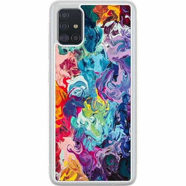 Samsung Galaxy A51 Soft Case (Frostad) Wild Colours