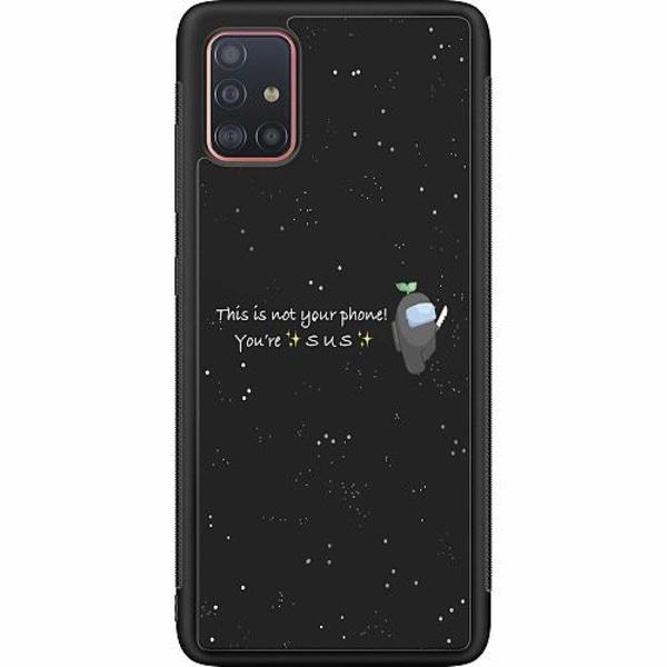 Samsung Galaxy A51 Soft Case (Svart) Among Us 2021