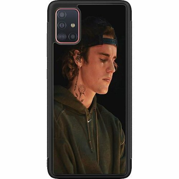 Samsung Galaxy A51 Soft Case (Svart) Justin Bieber 2021