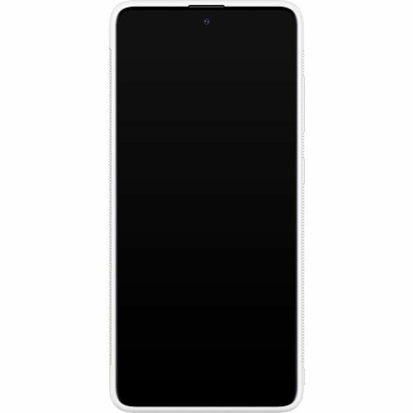 Samsung Galaxy A51 Soft Case (Vit) Attack On Titan
