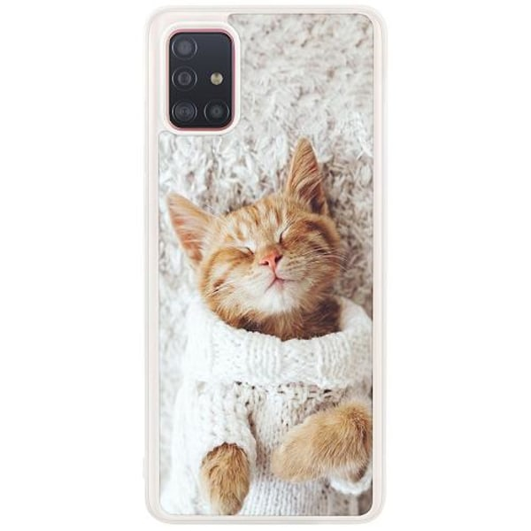 Samsung Galaxy A51 Soft Case (frostad) Kitty Sweater