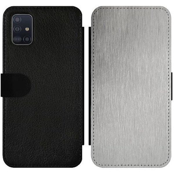 Samsung Galaxy A51 Wallet Slimcase Metallic Pattern