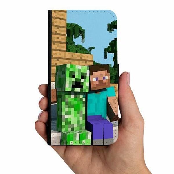 Apple iPhone 12 Mobilskalsväska MineCraft