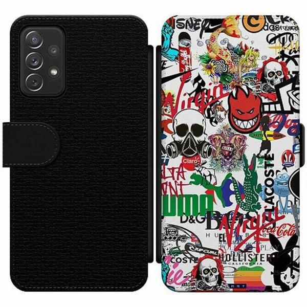 Samsung Galaxy A52 5G Wallet Slim Case Stickers