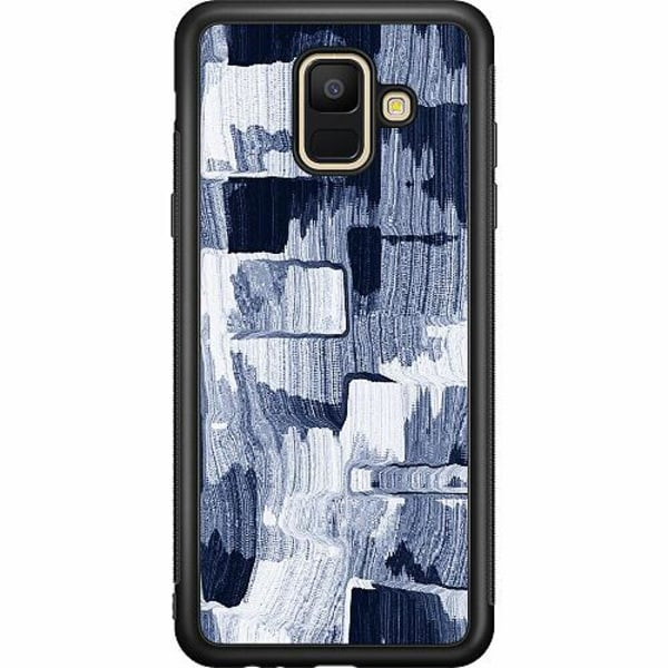 Samsung Galaxy A6 (2018) Soft Case (svart) Stroked Out