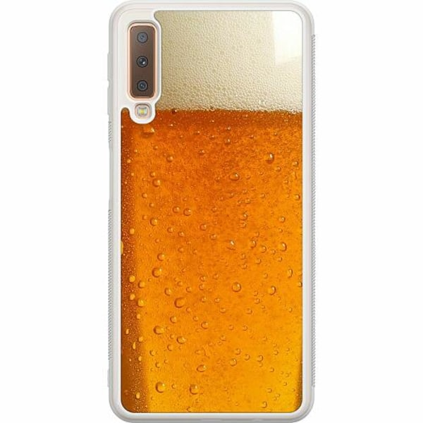 Samsung Galaxy A7 (2018) Soft Case (Frostad) Beer
