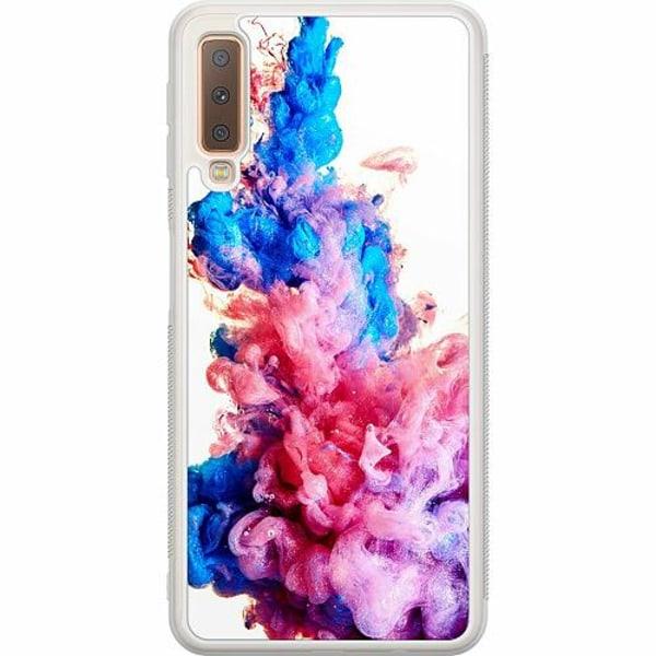 Samsung Galaxy A7 (2018) Soft Case (Frostad) Colour Bomb