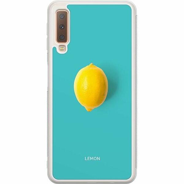 Samsung Galaxy A7 (2018) Soft Case (Frostad) Lemon