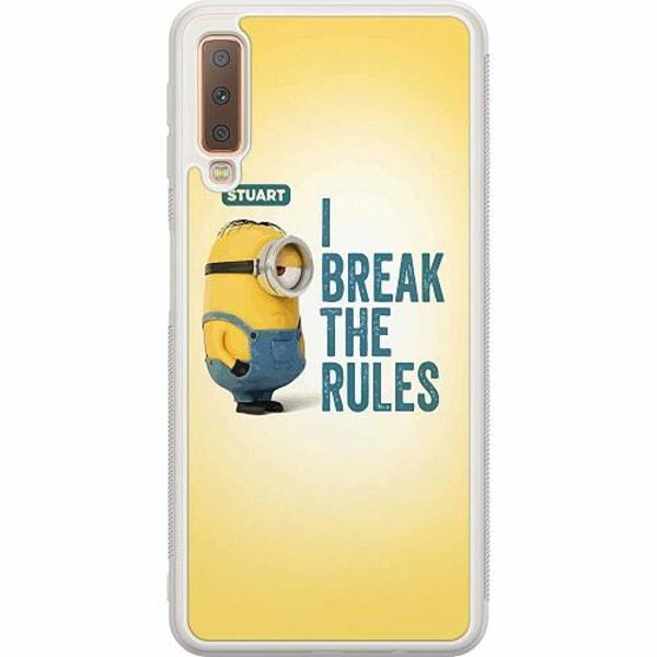 Samsung Galaxy A7 (2018) Soft Case (Frostad) Minions