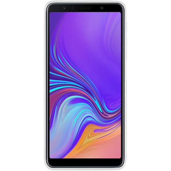 Samsung Galaxy A7 (2018) Vitt Mobilskal Dark Side