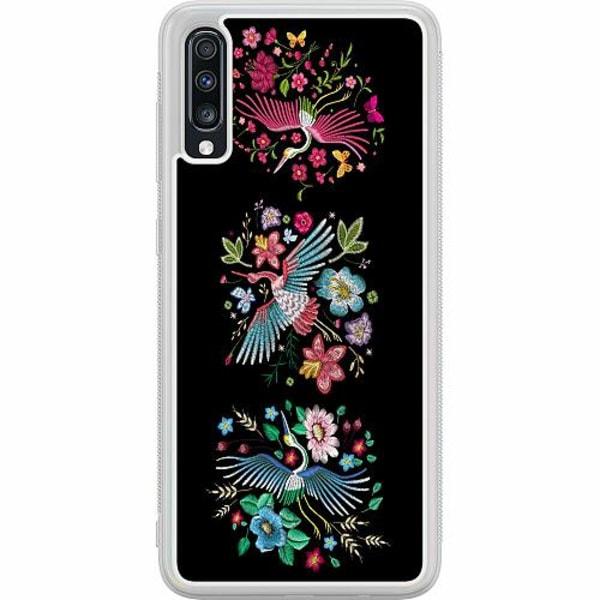 Samsung Galaxy A70 Soft Case (Frostad) Birdie