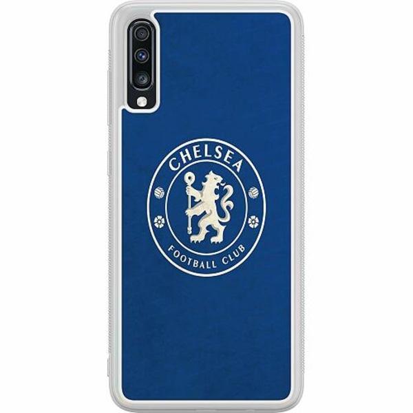 Samsung Galaxy A70 Soft Case (Frostad) Chelsea Football Club