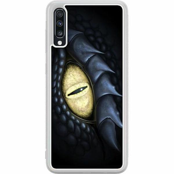 Samsung Galaxy A70 Soft Case (Frostad) Eye Of The Dragon