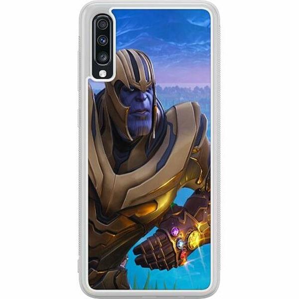 Samsung Galaxy A70 Soft Case (Frostad) Fortnite Thanos