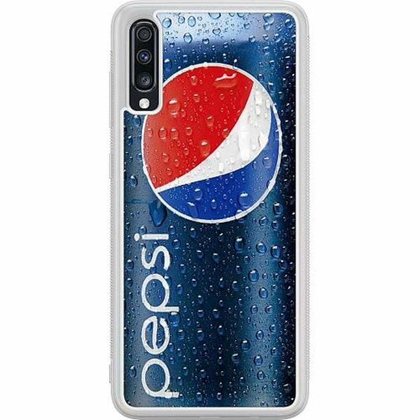 Samsung Galaxy A70 Soft Case (Frostad) Pepsi Can