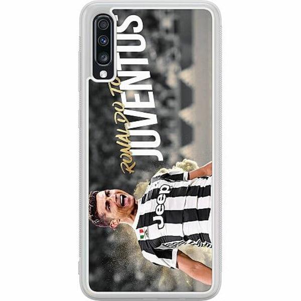 Samsung Galaxy A70 Soft Case (Frostad) Ronaldo