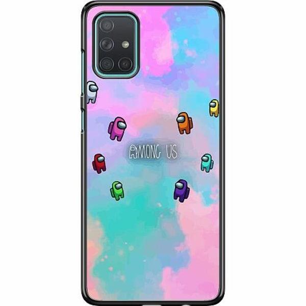 Samsung Galaxy A71 Hard Case (Svart) Among Us